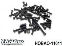 HOBAO 11011 HB-10SC SCREWS SET - A - FOR FRONT VERSION