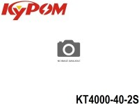 KYPOM-Power 105 - KT4000-40-2S mAh4000 7.4V 2S1P 17.2mm 44mm 133mm 220.3 gram 40C(160.0A) 80C(320.0A)
