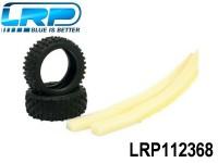 LRP-112368 Tires Fat Block incl. Foam hard - S18 LRP112368