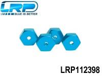 LRP-112398 Alum. Wheel Adapters 4pcs - S18 LRP112398
