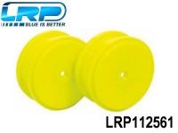LRP-112561 Dish Wheels Yellow 2pcs. - S18 RMT-NM LRP112561