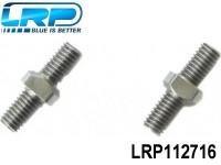 LRP-112716 Adjustable Rear Turnbuckle Set - S18 TC LRP112716