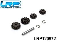 LRP-120972 Differential Gear Set 4pcs - S10 LRP120972