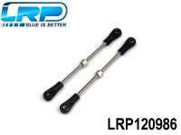LRP-120986 Rear upper Turnbuckle set - S10 TX LRP120986