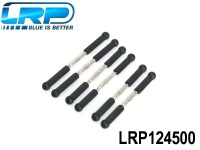 LRP-124500 Turnbuckles L-R, S10 Twister BX, 6 pcs LRP124500