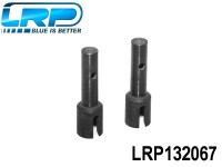 LRP-132067 Rear Hub Carrier Axle 2pcs - S8 RTR LRP132067
