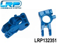 LRP-132351 Aluminium Rear Hub Carriers Blue - S8 LRP132351