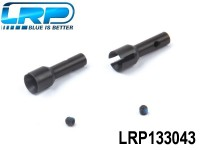 LRP-133043 Rear Hub Carrier Axle 2pcs - Rebel LRP133043