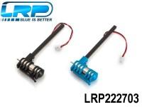 LRP-222703 Motorset - 2 Motors Blue-Black incl. Connection rods