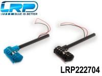 LRP-222704 Motorset - 2 Motors Blue-Black incl. Connection rods