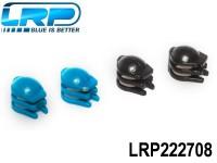 LRP-222708 Motor guard base 4 pieces, 2x Blue, 2x Black - H4 Gravit Micro 2.4 Ghz Quadrocopter LRP222708