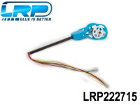 LRP-222715 Motorset - Motor counter - clockwise incl. connection rods, Motor Mount and LED White-Blue - H4 Gravit