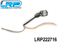 LRP-222716 Motorset - Motor counter - clockwise incl. connection rods, Motor Mount and LED red-red - H4 Gravit