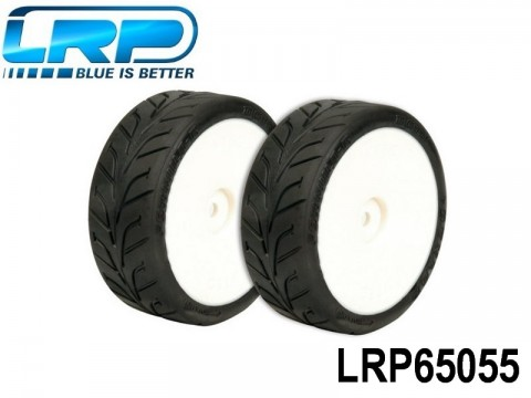 LRP-65055 VTEC Rain Wheel Dunlop D20 Radial LRP65055