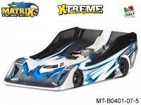 Matrix Racing Tires MT-B0401-07-5 1:8 Uncut R18 Flat Ultra Light Clear
