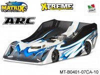 Matrix Racing Tires MT-B0401-07CA-10 1:8 Cut R18 Flat Ultra Light ARC Clear