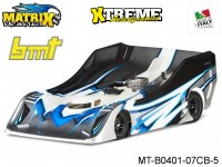 Matrix Racing Tires MT-B0401-07CB-5 1:8 Cut R18 Flat Ultra Light BMT Clear