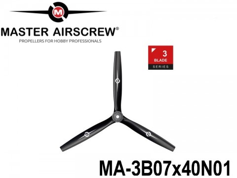 1102 MA-3B07x40N01 Master Airscrew Multi Rotor Propellers Only 3-Blade 7-inch x 4-inch - 177.8mm x 101.6mm