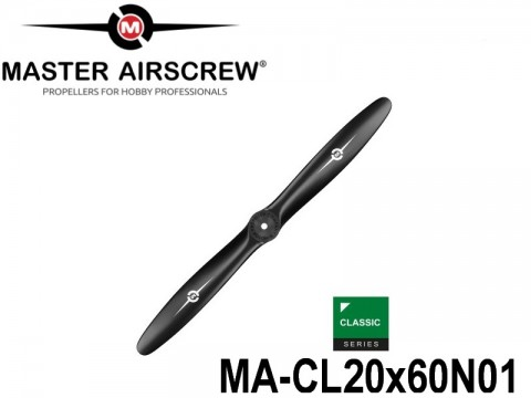 303 MA-CL20x60N01 Master Airscrew Propellers Classic Series 20-inch x 6-inch - 508mm x 152.4mm