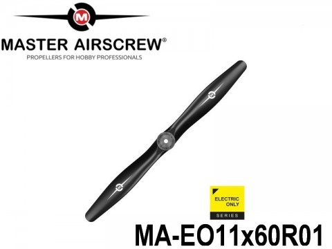 1048 MA-EO11x60R01 Master Airscrew Multi Rotor Propellers Only Electric 11-inch x 6-inch - 279.4mm x 152.4mm Rev.-Pusher