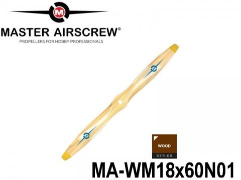 947 MA-WM18x60N01 Master Airscrew Propellers Wood Series 18-inch x 6-inch - 457.2mm x 152.4mm