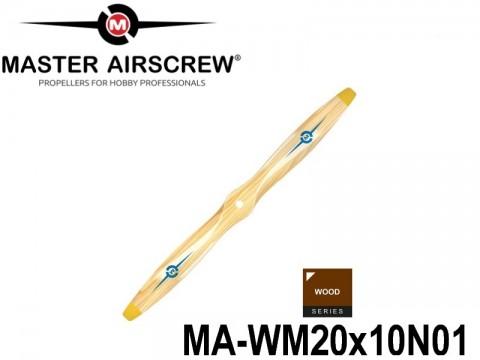 951 MA-WM20x10N01 Master Airscrew Propellers Wood Series 20-inch x 10-inch - 508mm x 254mm