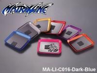 409 CNC aluminium alloy Screw Tray With Magnetic Pad MA-LI-C016-Dark-Blue Dark-Blue
