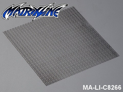 34 Stainless Steel Modified Air Intake Mesh Black (Aluminium) MA-LI-C8266 Black