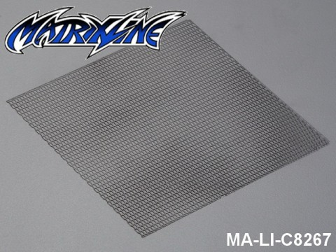 35 Stainless Steel Modified Air Intake Mesh Black (Aluminium) MA-LI-C8267 Black