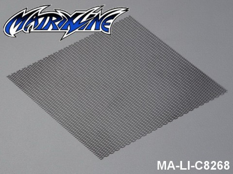 36 Stainless Steel Modified Air Intake Mesh Black (Aluminium) MA-LI-C8268 Black