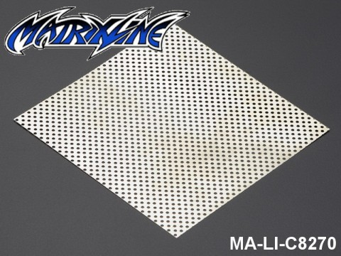 39 Stainless Steel Modified Air Intake Mesh Silver (Aluminium) MA-LI-C8270 Silver