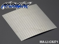 40 Stainless Steel Modified Air Intake Mesh Silver (Aluminium) MA-LI-C8271 Silver