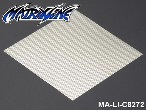38 Stainless Steel Modified Air Intake Mesh Silver (Aluminium) MA-LI-C8272 Silver