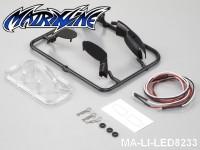 153 Wing Mirror W-LED Unit Set 1-7 Electric Car MA-LI-LED8233