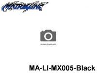 418 Line Tape 0.7mm MA-LI-MX005-Black Black