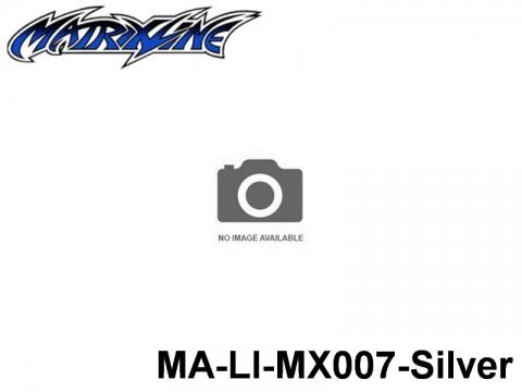 386 Line Tape 1.5mm MA-LI-MX007-Silver Silver