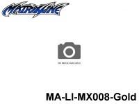 391 Line Tape 2.5mm MA-LI-MX008-Gold Gold