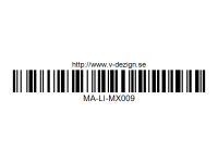 397 Clips for Line Tape MA-LI-MX009 Transparent