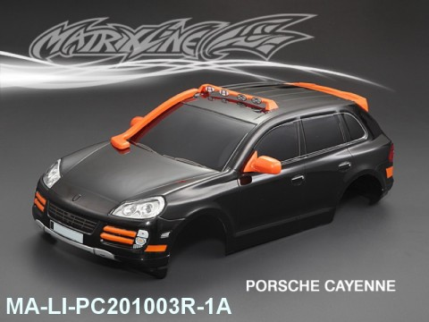 357 PORSCHE CAYENNE Finished PC Body RTR MA-LI-PC201003R-1A Painted