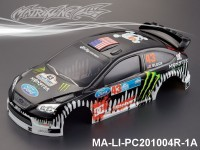 339 FORD FOCUS Finished PC Body RTR MA-LI-PC201004R-1A Painted