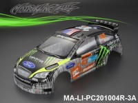 371 FORD FOCUS Finished PC Body RTR MA-LI-PC201004R-3A Painted