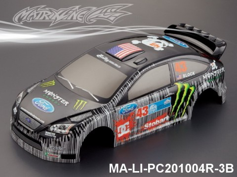 369 FORD FOCUS Finished PC Body RTR MA-LI-PC201004R-3B Painted
