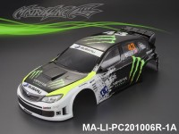 321 SUBARU IMRREZA WRX 10 Finished PC Body RTR MA-LI-PC201006R-1A Painted