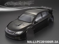 325 SUBARU IMRREZA WRX 10 Finished PC Body RTR MA-LI-PC201006R-3A Painted