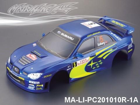 330 SUBARU IMRREZA WRX 9 Finished PC Body RTR MA-LI-PC201010R-1A Painted