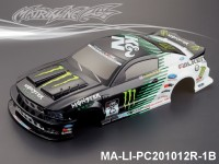 337 FORD MUSTANG GT350 Finished PC Body RTR MA-LI-PC201012R-1B Painted