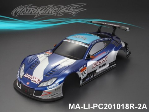 343 HONDA HSV Finished PC Body RTR MA-LI-PC201018R-2A Painted