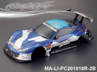 344 HONDA HSV Finished PC Body RTR MA-LI-PC201018R-2B Painted