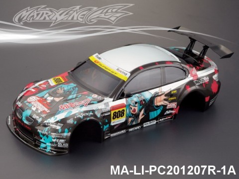 353 BMW M3 Finished PC Body RTR MA-LI-PC201207R-1A Painted