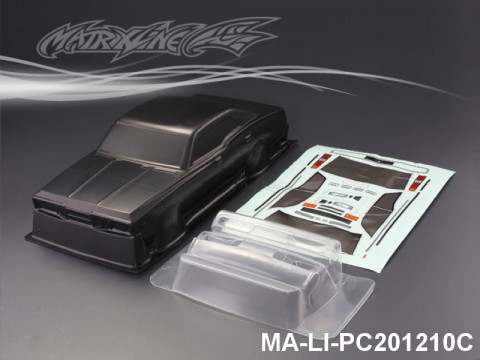 425 NISSAN CEDRIC CARBON-PRINTING PC Body SHELL MA-LI-PC201210C Transparent